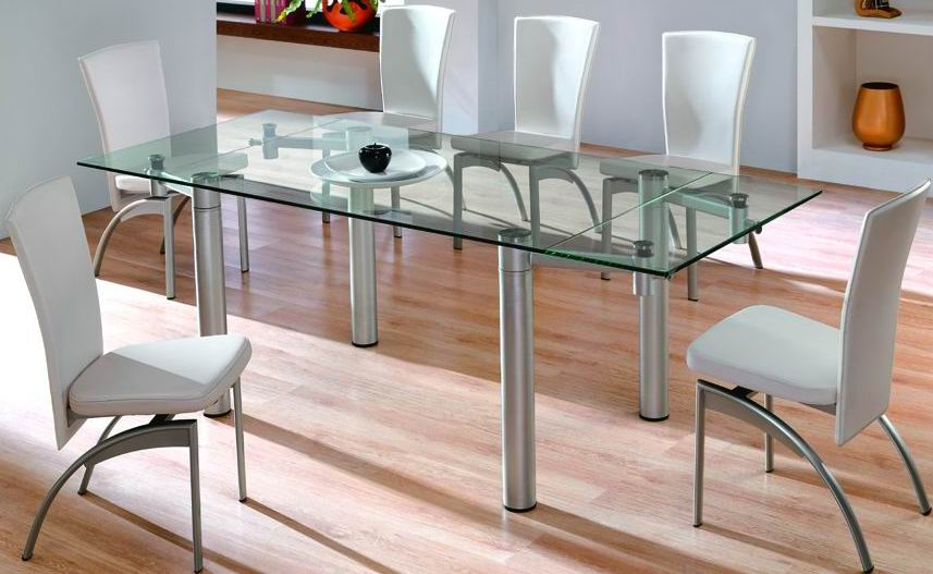 Impressive Glass Top Dining Tables 857 x 527 · 65 kB · jpeg